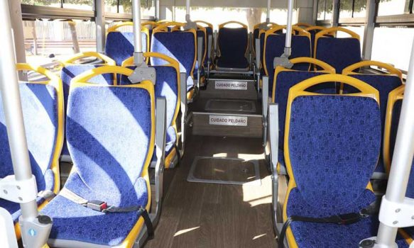 Buses eléctricos son presentados a la Municipalidad de Rancagua