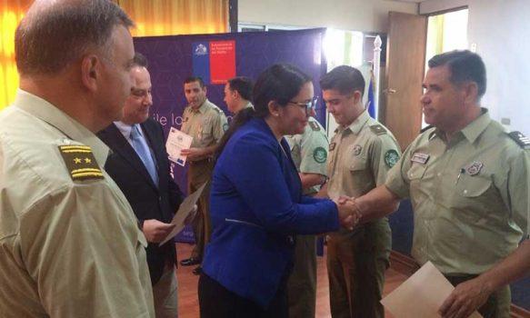 """Carabineros de la Prefectura de Colchagua y Ministerio Público adquirieron """"Sello de Seguridad"""""""