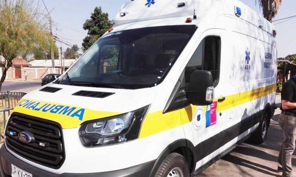 Cesfam de Machalí cuenta con nueva ambulancia
