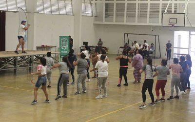 Con actividad física corporación municipal de deportes celebra y conmemora a las mujeres de la cárcel