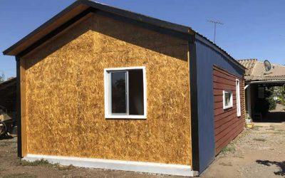 Construyen innovador y accesible vivienda a participante de Programa de Habitabilidad en Peralillo