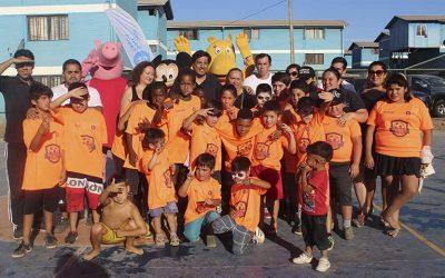 Feria deportiva entregó una tarde recreativa a población Algarrobo 3