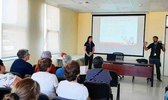 Fructífero taller de artrosis para pacientes del Programa de Salud Cardiovascular