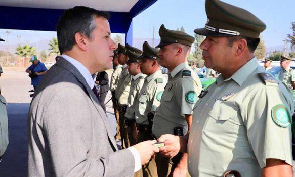 Gobierno Regional entregó 28 vehículos nuevos a Carabineros