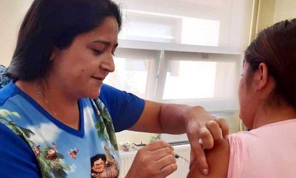 Hospital de Chimbarongo inicia la campaña de vacunación contra la influenza 2020