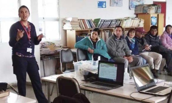 Hospital de Marchigüe efectuó una charla informativa sobre el Coronavirus