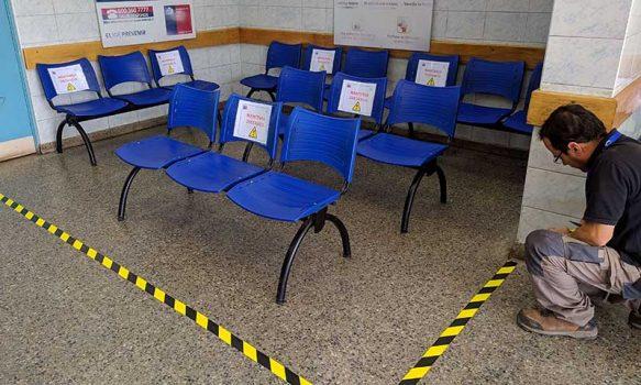 Hospital de Rengo adopta nuevas medidas por contingencia sanitaria