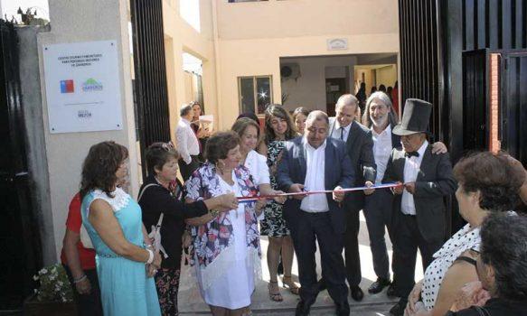 Inauguran Centro Diurno Comunitario para Personas Mayores de la comuna de Graneros