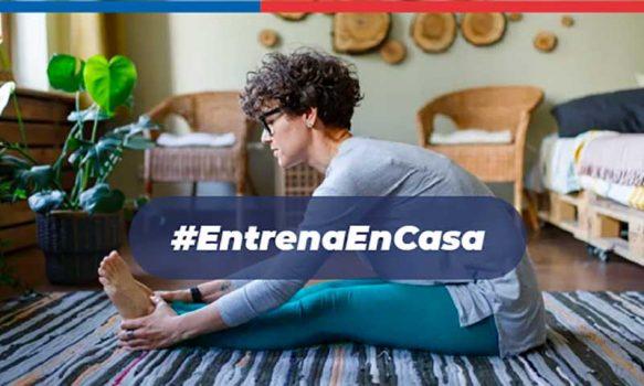 Ministra del deporte anuncia lanzamiento de campaña #EntrenaEnCasa