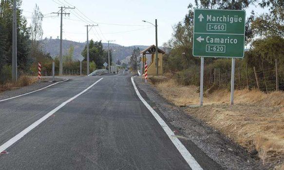 MOP O'Higgins inaugura importante camino rural que une a Pumanque con Marchigüe