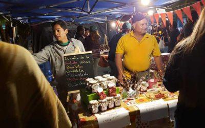 Productores obtienen éxito en ventas de subproductos de frutillas en Carnaval de Litueche