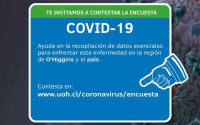 UOH invita a la comunidad de la región a participar en encuesta por COVID-19