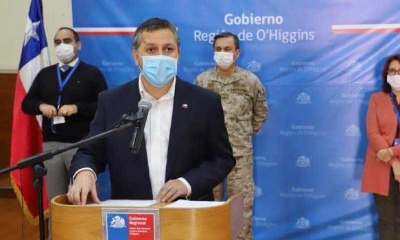 2 nuevos casos confirmados de coronavirus se registró en la Región de O'Higgins