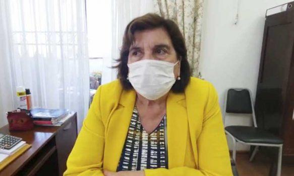 Alcaldesa de Olivar agradece al Concejo ceder presupuesto de capacitaciones para adquisición de elementos de emergencia