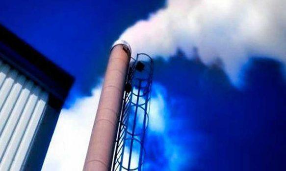 ambiental chimenea humo