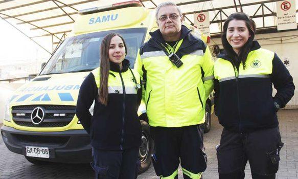 Ante pandemia: Ambulancias de SAMU O'Higgins serán beneficiadas con aporte de Copec
