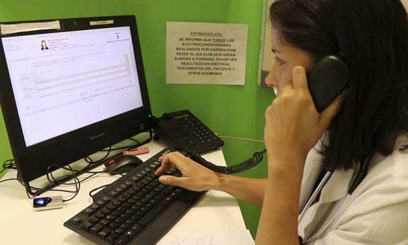 Atención ambulatoria del Hospital Regional avanza en consultas telefónicas