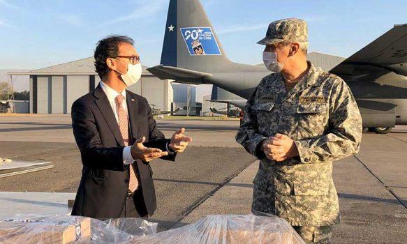 Coronavirus: Mineduc y fuerza aérea envían material pedagógico a zonas extremas