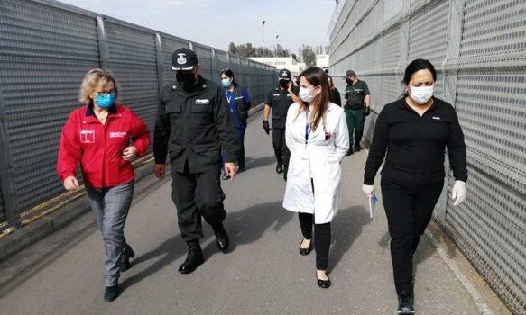 COVID-19: Seremi de Salud revisa protocolos en Cárcel de Rancagua