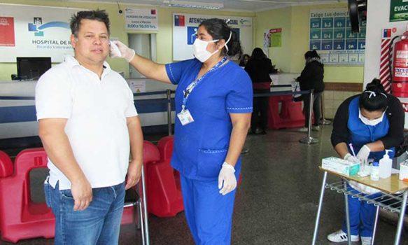 Hospital de Rengo implementa control de temperatura preventivo en policlínico