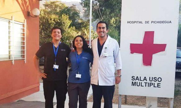 Nuevos médicos llegan a reforzar atención en Hospital de Pichidegua