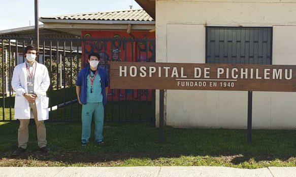 Por Covid-19: Nuevos médicos y ambulancia llegan a Hospital de Pichilemu