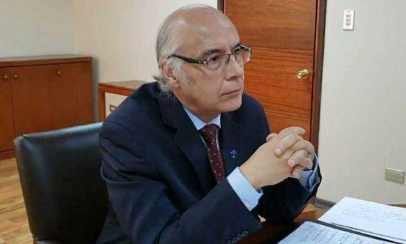 Presidente de la Corte de Rancagua respondió consultas en forma virtual a estudiantes de derecho