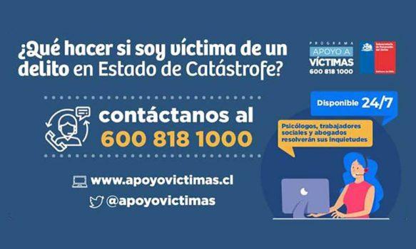 Refuerzan línea 600 para las víctimas de delitos