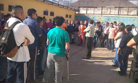 Se intensifica el trabajo en Unidades Penales para prevenir contagios del Covid-19