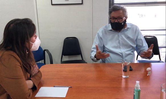 Alcalde Eduardo Soto y Seremi de Salud se reúnen para abordar etapa más dura por COVID-19