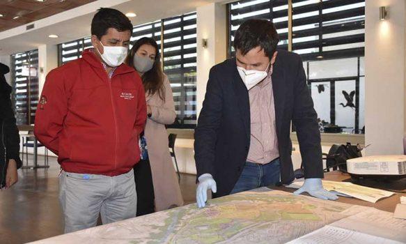 Avances del proyecto de arquitectura del Parque Colchagua fue validado por autoridades