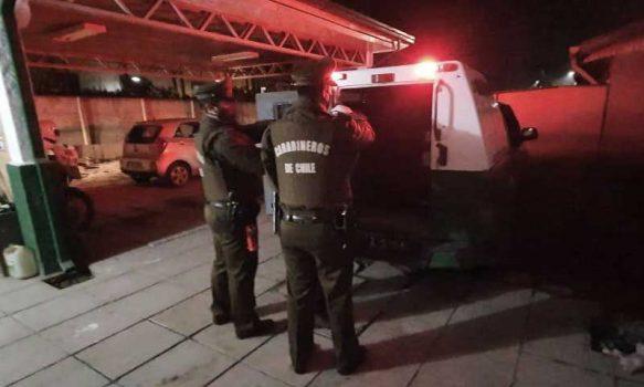 Carabineros detuvo a sujeto por Femicidio Frustrado en Chépica
