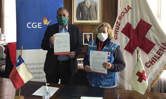 CGE y sus trabajadores aportan $175 millones a la Cruz Roja para apoyar su labor durante esta pandemia