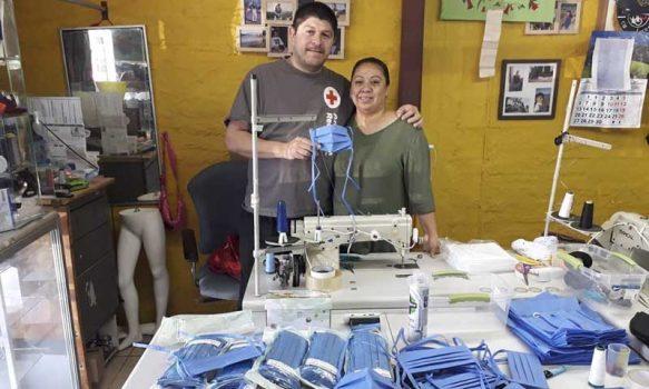 Hospital de Marchigüe recibe importante donación de mascarillas