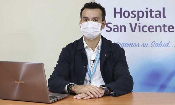 Hospital de San Vicente cerró 2019 como el año de la innovación en sus procesos