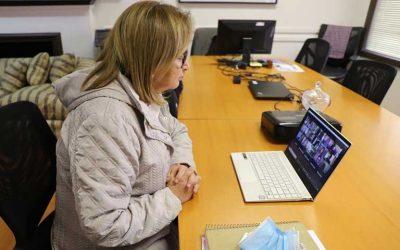 Intendenta Cofré se reunió con representantes del mundo de las Culturas y las Artes de O´Higgins preocupada por la pandemia