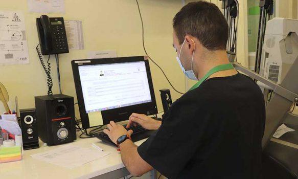 Pacientes del Hospital Regional continúan sus tratamientos con telerrehabilitación