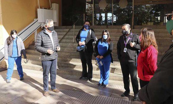 Personal de Salud Municipal de Rancagua se integra a fiscalizaciones realizadas por Seremi de Salud
