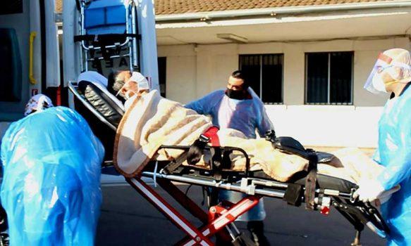 Primer alta COVID-19 en Hospital San Fernando