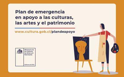 Seremi de las Culturas, las Artes y el Patrimonio explicó detalles del Plan de Emergencia por COVID-19