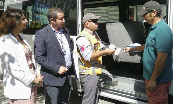 Sobre 2.000 transportistas escolares de la región de O'Higgins podrán prestar otros servicios