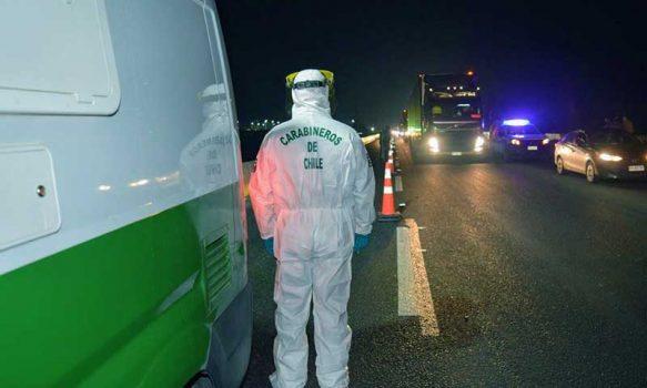 Carabineros investiga hallazgo de mujer muerta en la ruta 5 sur