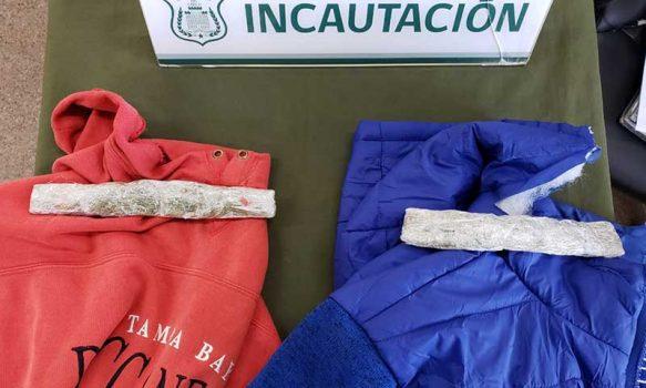 En prendas de vestir intentan ingresar droga a Complejo Penitenciario de Rancagua