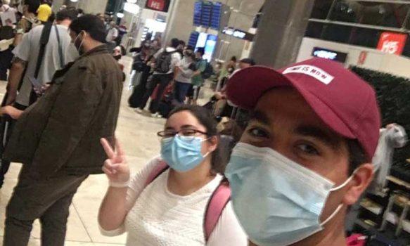 Estudiantes UOH regresan de intercambio en España
