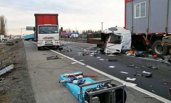 Grave accidente de tránsito en Rengo deja 3 muertos