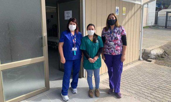 Hospital de Campaña de Litueche: El trabajo de funcionarios comprometidos con la salud