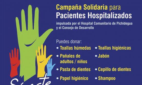Hospital de Pichidegua y Consejo de Desarrollo impulsan campaña solidaria
