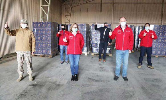Ministro de Agricultura participa de 25 mil nuevas cajas de ayuda para Rancagua y Machalí