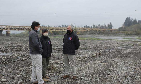 MOP O'Higgins avanza con trabajos de limpieza y canalización en cauces y ríos de la región