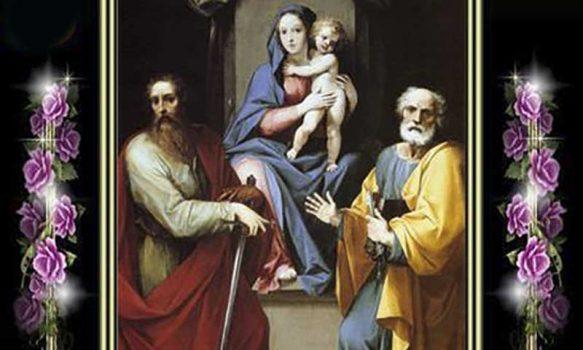 Porqué San Pedro y San Pablo se celebran el mismo día